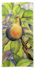 Pear Of Paradise Beach Sheet