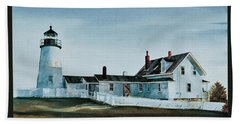 Pemaquid Light Beach Towel