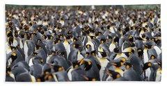 Penguinscape Beach Towel