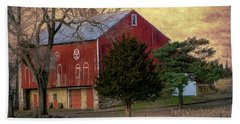 Pennsylvania Vintage Barn  Beach Towel