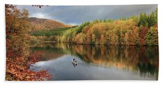 Perthshire Autumn Beach Sheet