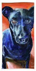 Beach Towel featuring the painting Peter by Mary K Conaboy