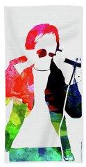 Peter Watercolor Beach Towel