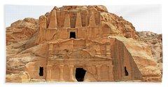 Petra, Jordan - Cave Dwellings Beach Sheet
