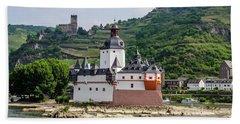 Pfalzgrafenstein Castle Beach Towel