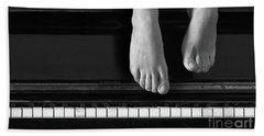 Piano #0215az Beach Towel