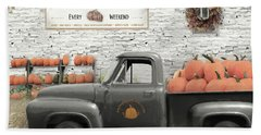Pick Your Pumpkin Beach Towel