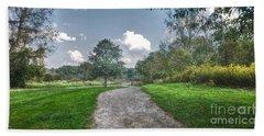 Pickerington Ponds Walkway Beach Towel
