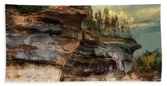 Pictured Rocks Michigan Beach Sheet