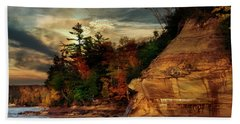 Pictured Rocks National Park Beach Towel