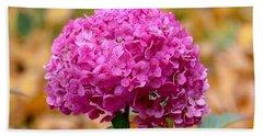 Pink Bouquet  Beach Sheet