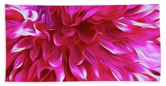 Pink Passion Punch  Beach Towel
