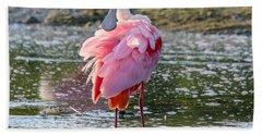 Pink Tutu Beach Sheet