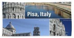 Pisa Italy Beach Towel