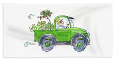 Plant Delivery Beach Towel