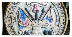 Plaque United States Of America Department Of The Army Beach Towel