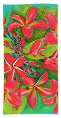 Plumeria Sunburst Beach Sheet