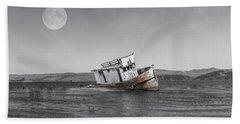 Point Reyes California Shipwreck Beach Towel