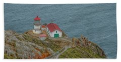 Point Reyes Lighthouse Beach Towel