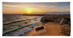 Pointe Du Percho And Port Blanc Beach Towel