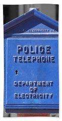 Police Box Beach Sheet