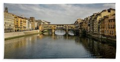 Ponte Vecchio Beach Towel