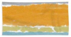 Poolside 1- Art By Linda Woods Beach Towel