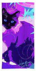 Pop Cat Cocoa Beach Sheet