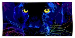 pOpCat Black Panther Beach Sheet