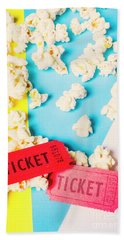 Popcorn Culture Beach Towel