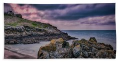 Porthgwidden Dramatic Sky Beach Towel