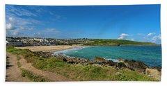 Porthmeor Beach - St Ives Cornwall Beach Towel
