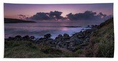 Porthmeor Sunset - Cornwall Beach Towel