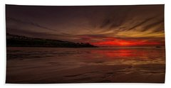 Porthmeor Sunset Beach Towel
