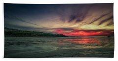 Porthmeor Sunset Version 2 Beach Towel