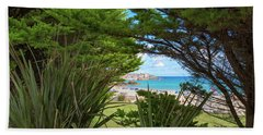 Porthminster Behind The Trees - St Ives Cornwall Beach Sheet