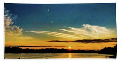 Portland Pauls Sunset Beach Towel