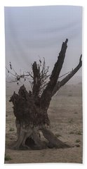Beach Towel featuring the photograph Prayer Of The Ent by Davor Zerjav