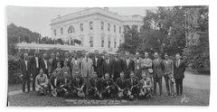 President Coolidge & The Worlds Beach Towel