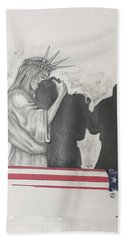Price Of Liberty Beach Towel