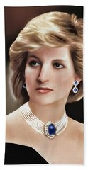 Princess Diana Beach Sheet