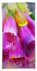 Psychedellic Pinkbells Beach Towel