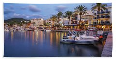 Beach Towel featuring the photograph Puerto De Andratx by Hans- Juergen Leschmann