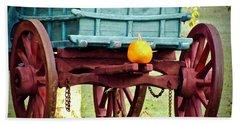Pumpkin Trail Mix Beach Towel