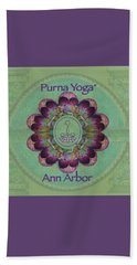 Purna Yoga Ann Arbor Beach Sheet