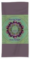 Purna Yoga Ann Arbor Beach Sheet