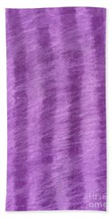 Purple Hazy Nights Beach Towel