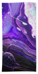 Purple Munchkin Beach Towel