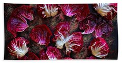 Purple Radicchio Beach Towel