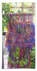 Purple Weaving Beach Towel